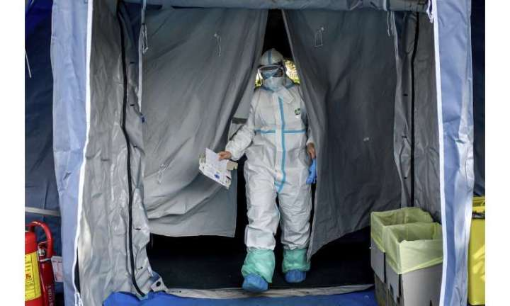 Virus disrupts Italy as infections top 10K, deaths at 631