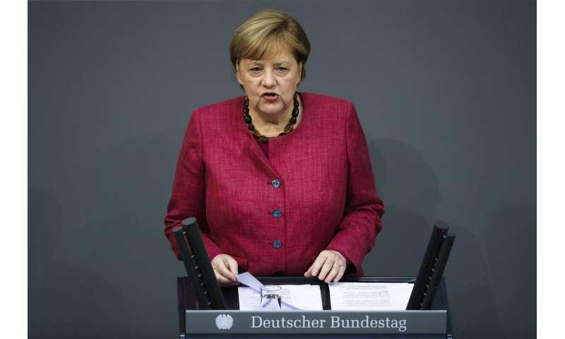 Merkel warns Germans of a 'difficult winter' as virus surges