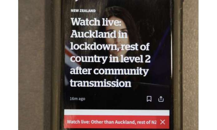 Coronavirus breaks out again in New Zealand after 102 days