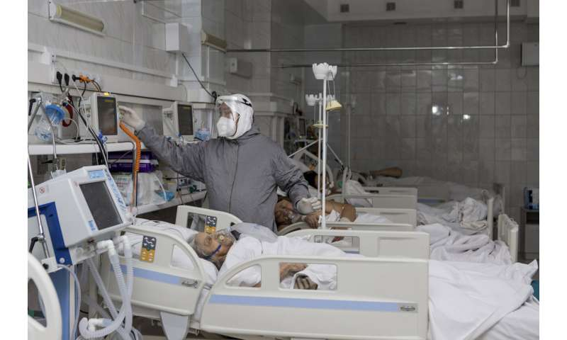 Russia's health system under strain as the virus surges back