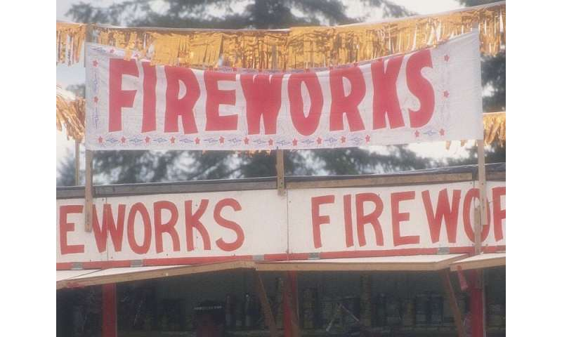 Injuries shoot up after fireworks laws loosened in west virginia