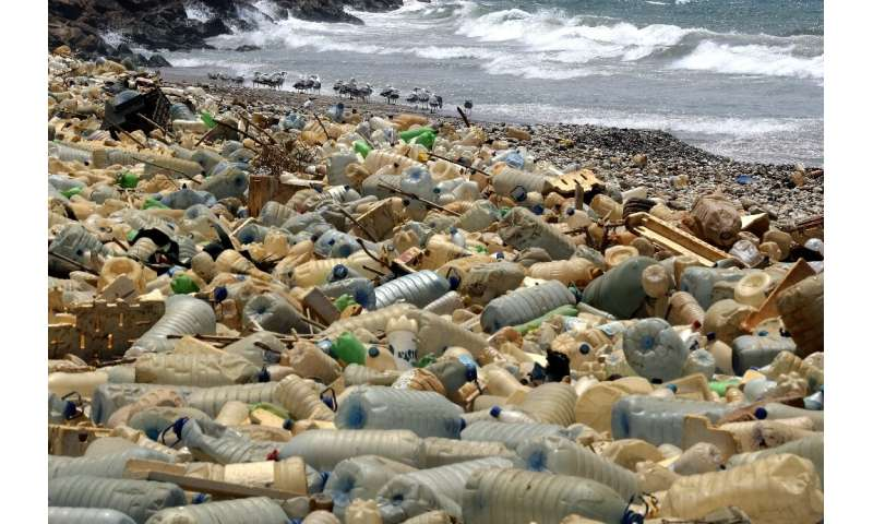 Plastic dumped in Mediterranean Sea to double in 20 years