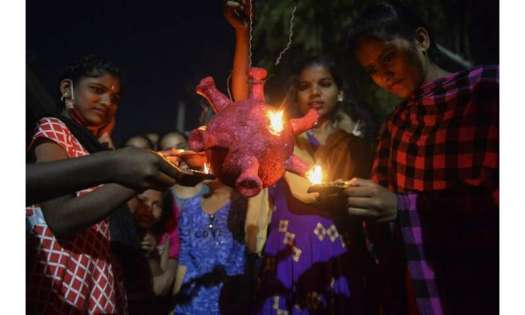 The pandemic and chronic pollution cast a shadow over Diwali celebrations for hundreds of millions in India on the biggest Hindu