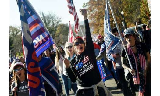 Thousands of supporters of US President Donald Trump held a rally in Washington, DC, without masks or social distancing, as the