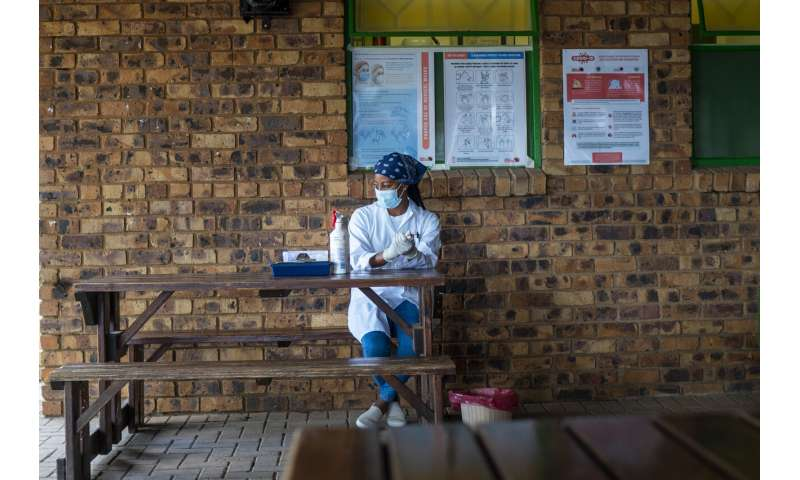South Africa's health care workers eager for first vaccines