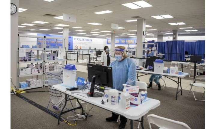 US ramps up vaccinations to get doses to more Americans