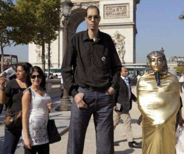 Man with world's largest feet finds fame