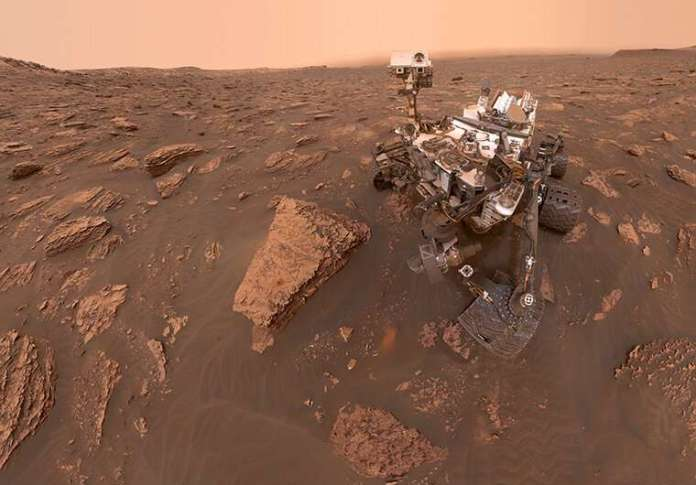 Powerful electrical events quickly alter surface chemistry on Mars and other planetary bodies