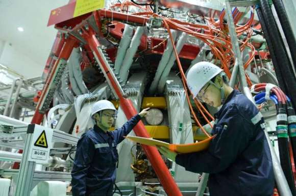 The HL-2M Tokamak reactor is China's largest and most advanced nuclear fusion experimental research device and can reach tempera