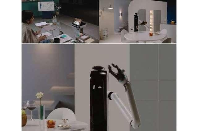 Le robot Samsung vous nourrit et vous aide à faire la lessive