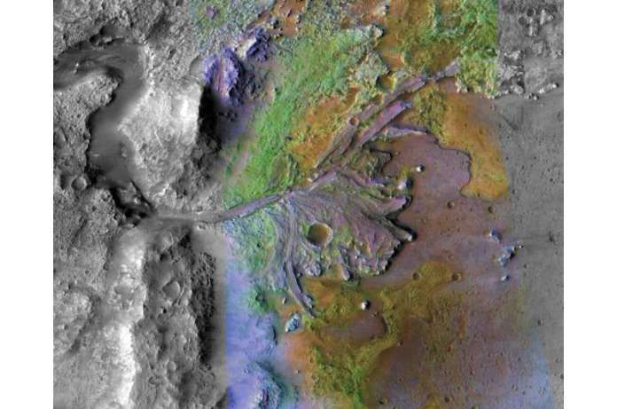 SwRI scientist proposes a new timeline for Mars terrains