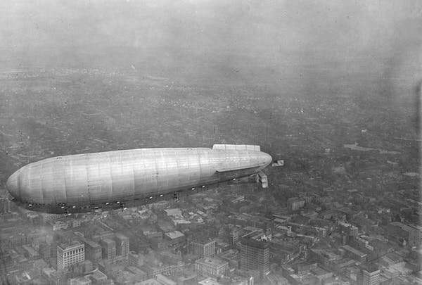 Hydrogen gas-fuelled airships could spur development in remote communities