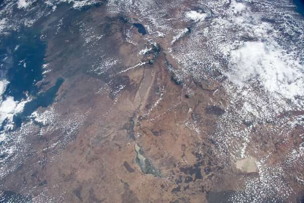 International Space Station images trace bird migrations