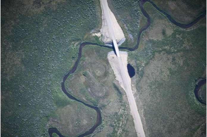 ACUASI आर्कटिक के लिए कनाडा के पहले राजमार्ग के रिमोट सेंसिंग मानचित्र को पूरा करता है