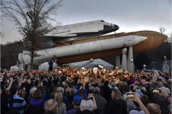 Alabama museum to restore full-sized mockup of space shuttle