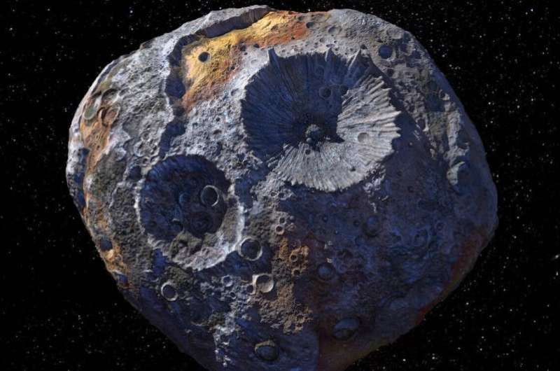 Asteroid 16 Psyche might not be what scientists expected