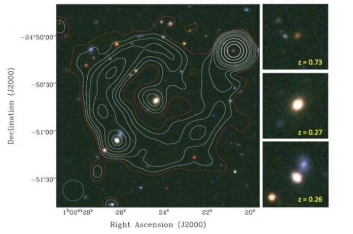 खगोलविदों ने एक नया एक्सट्रैजलैक्टिक परिपत्र रेडियो स्रोत की खोज की