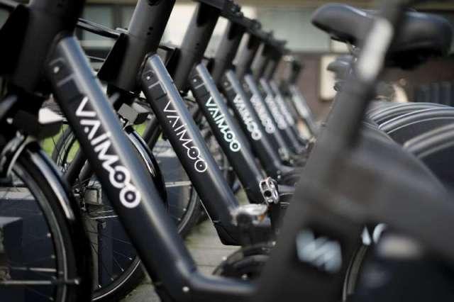 L'opérateur de vélos électriques Vaimoo figurait parmi les exposants du salon de l'électronique grand public entièrement numérique, au milieu d'un intérêt croissant pour le micromobi