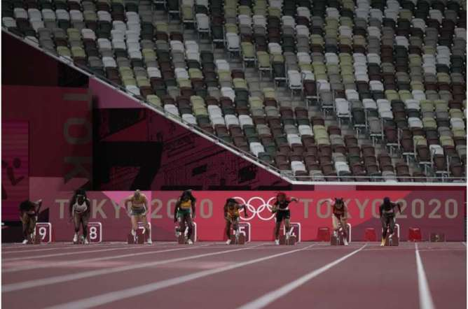 EXPLAINER: The tech behind Tokyo Olympics' fast track