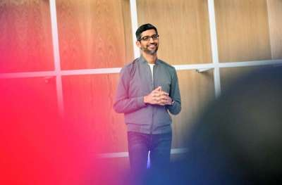 Google teams with Samsung for wearables platform | Tech Xplore MAY 18, 2021 / Business  Google CEO Sundar Pichai is seen at the Google I/O 2019, the company's developer conference which is being held remotely this week for a second straight year.
