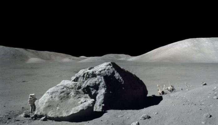 Lunar sample tells ancient story