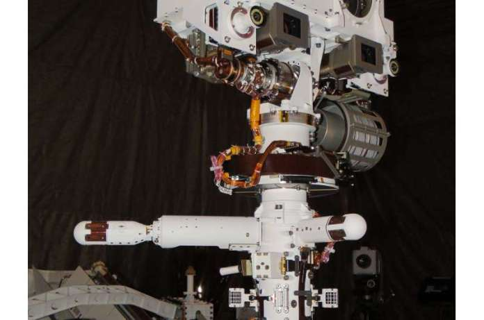 मंगल पर जेज़ेरो क्रेटर से नासा की पहली मौसम रिपोर्ट
