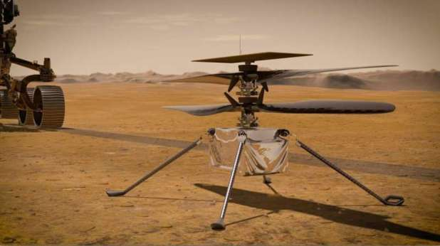 NASA's Mars Helicopter Reports In