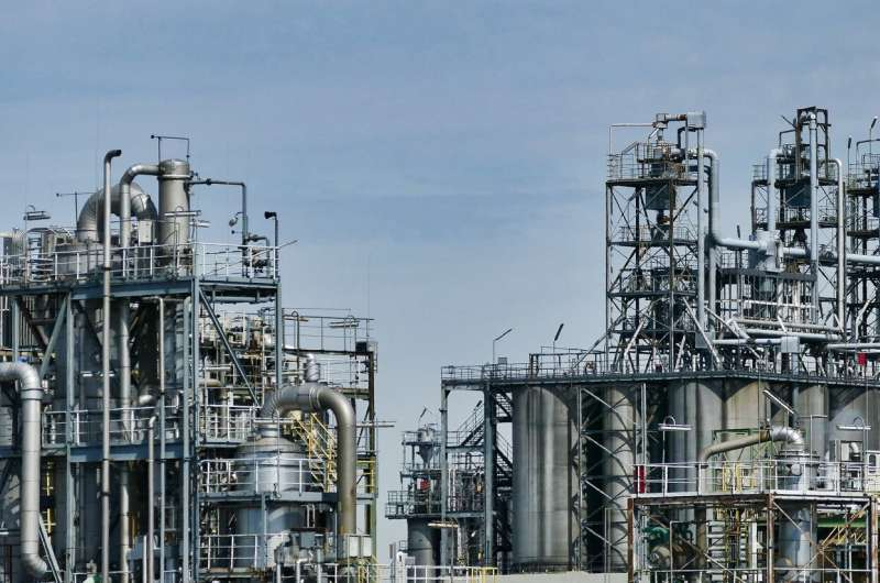 More Emissions from Oil Refineries in the near-term future Oil Refinery