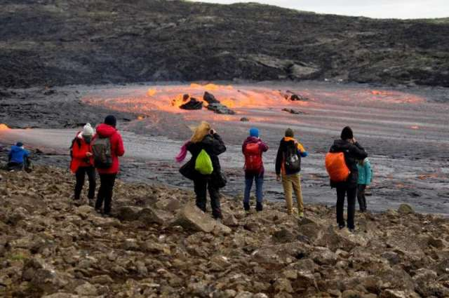 The eruption has become a major tourist attraction, drawing 300,000 visitors so far, according to the Iceland Tourist Board