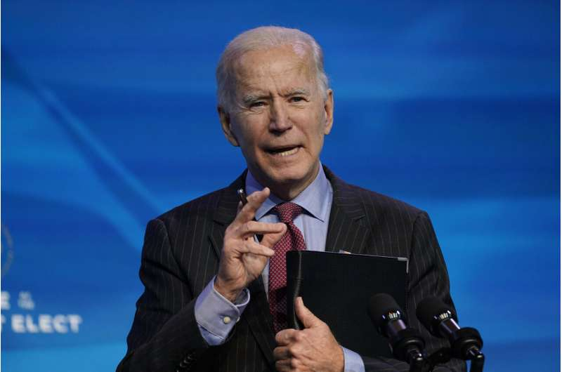 Vaccines and masks: Biden plan aims to break pandemic cycle