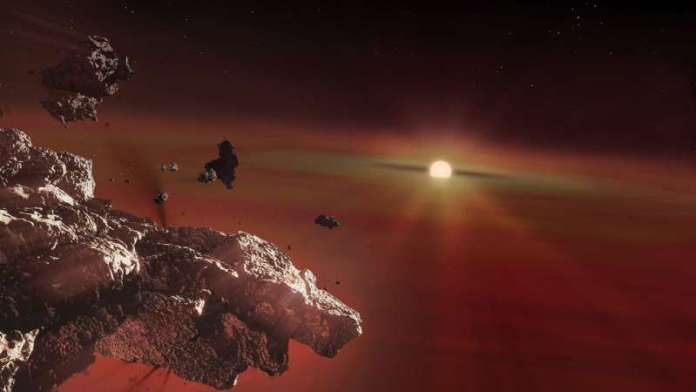 Vaporised crusts of Earth-like planets found in dying stars