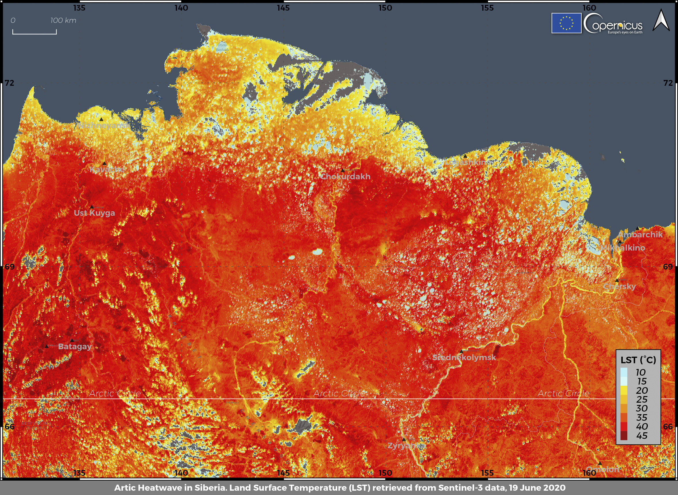 The Arctic is on fire: Siberian heat wave alarms scientists