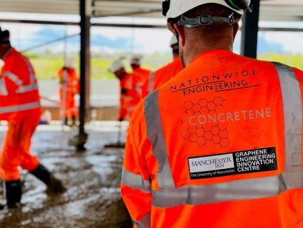 Innovation pioneers score world first for sustainable construction with graphene concrete