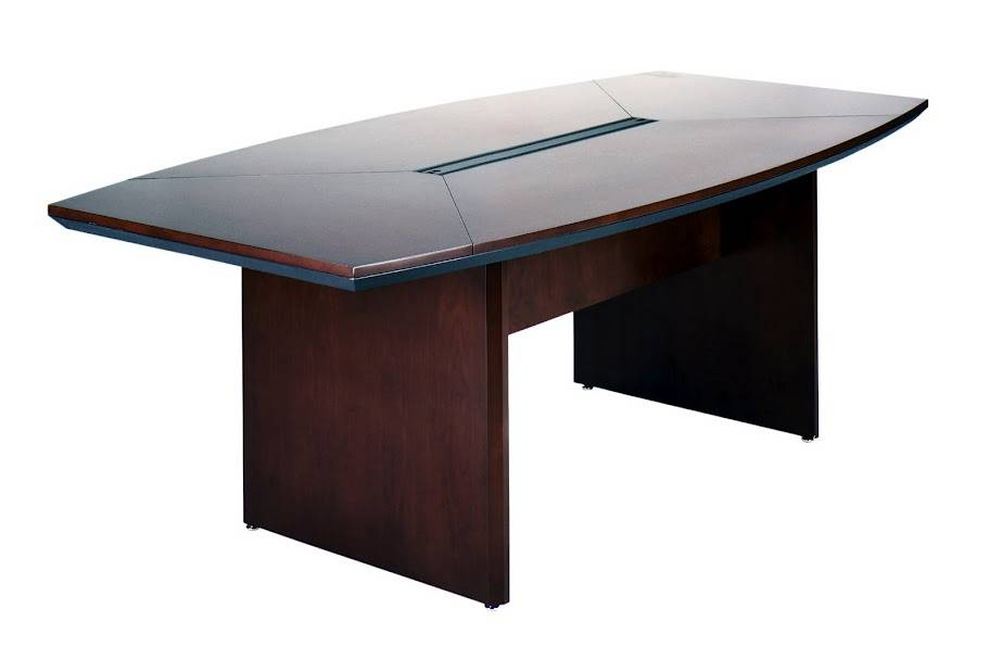 Mayline Corsica Series 6ft Boat Shaped Conference Table