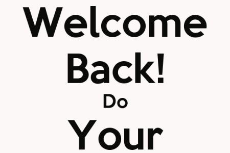 free printable welcome back sign path decorations pictures full