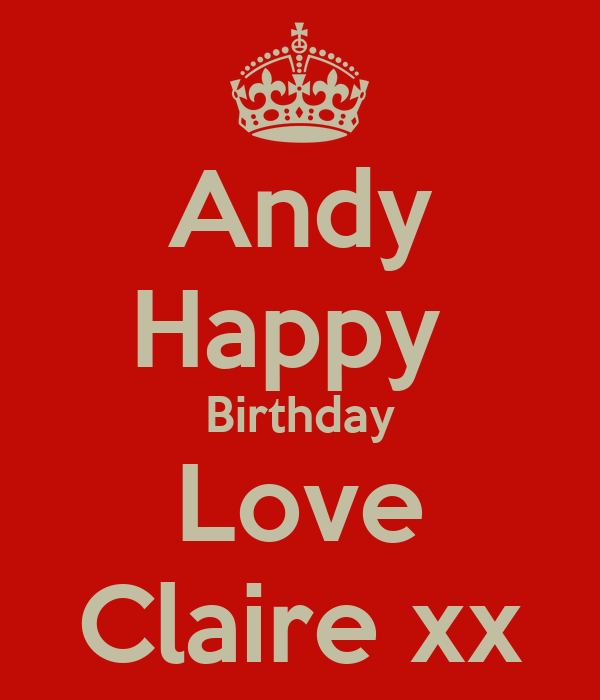 Keep Calm And Love Claire