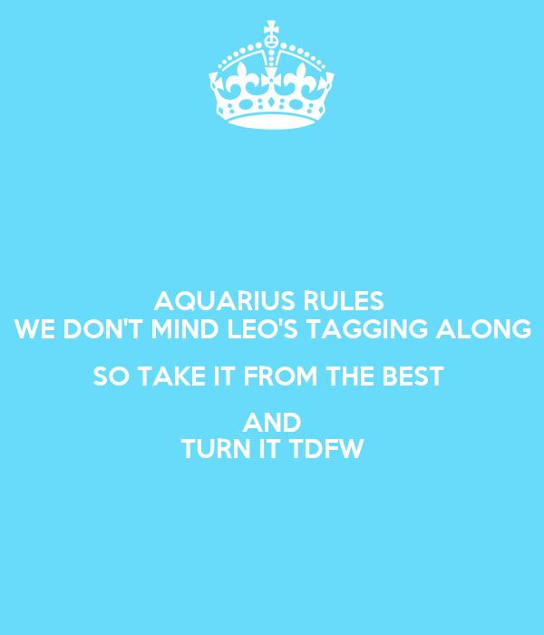 Along Aquarius Get Dont
