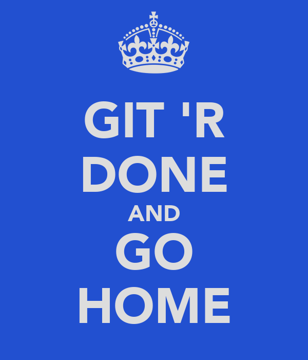 Keep Calm And Get R Done
