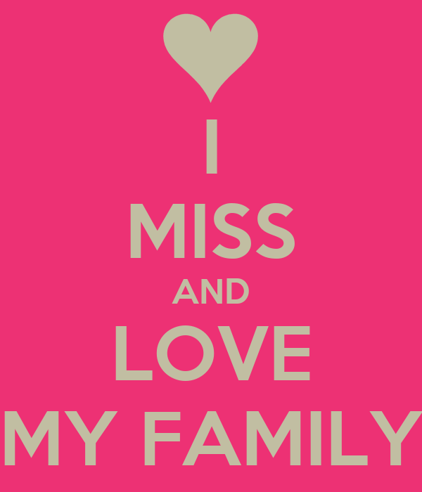 Poster My Miss Family And Love