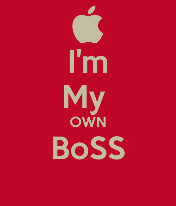 Keep Calm And Love Boss