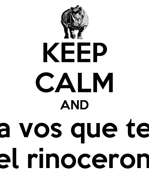 Poster do filme Rinoceronte!