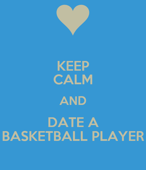 Basketball Date Calm And Player Keep