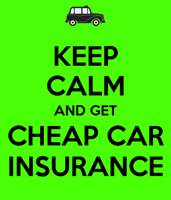 Buy Cheap Car Insurance