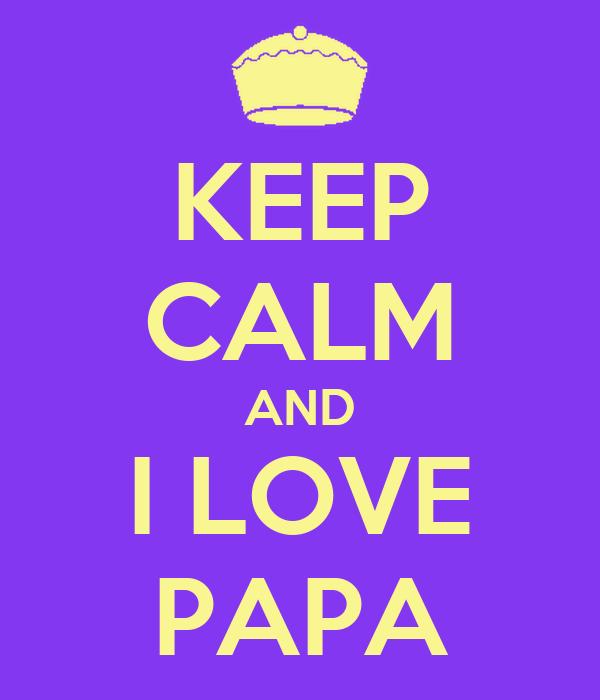 Keep Calm And Love Manuela