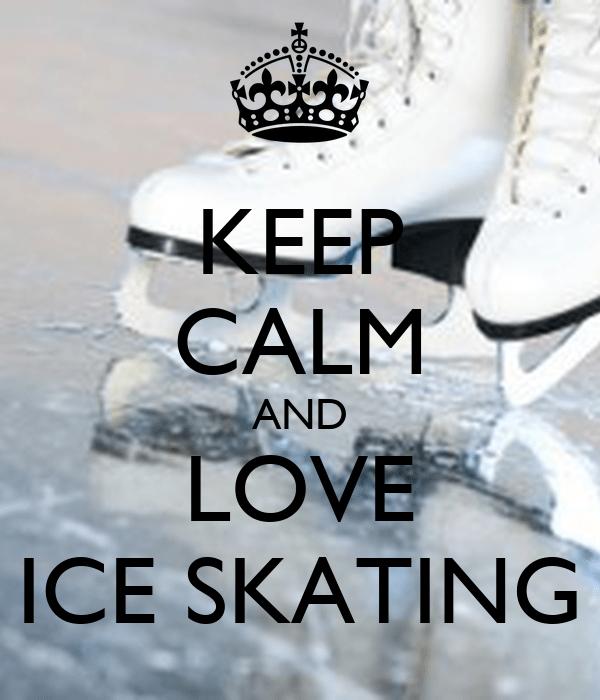 Keep Calm And Figure Skate