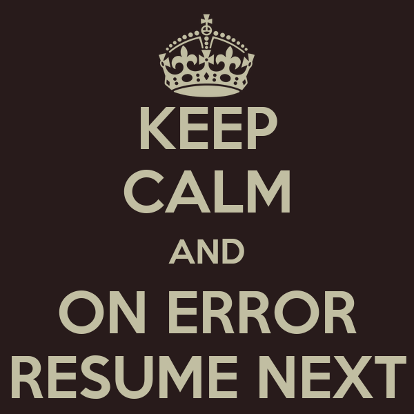 Gulp Task: On Error Resume Next – Mike on Software