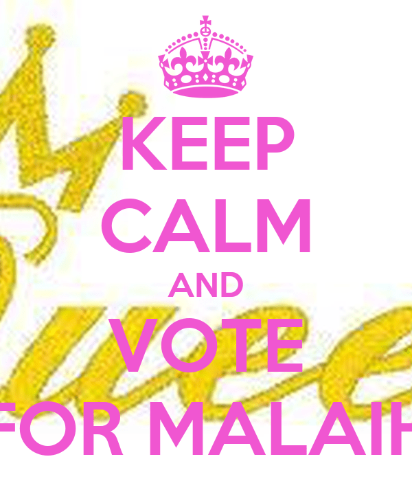 Keep Calm And Vote Aden