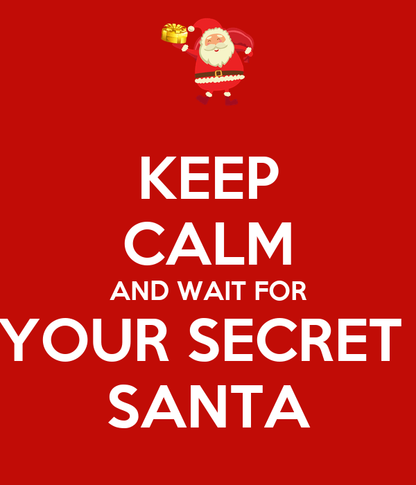Image result for wait for secret santa