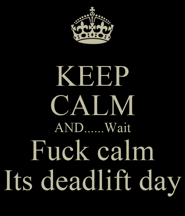 Image result for deadlift day