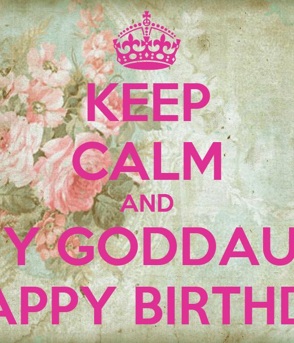 Happy Birthday Wishes Goddaughter Facebook